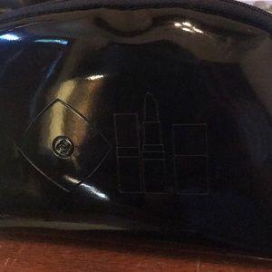 CC Chanel Patent makeup bag